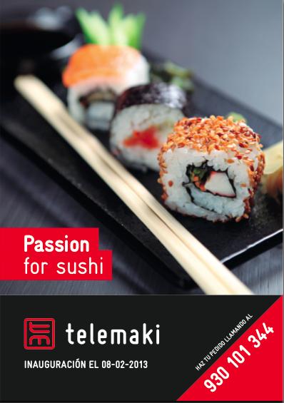 Telemaki Pasión por el Sushi