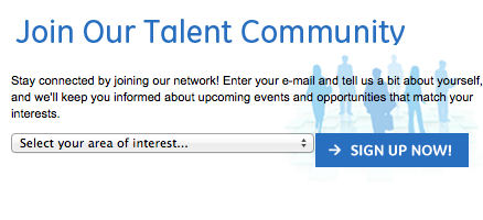 Join talent GE