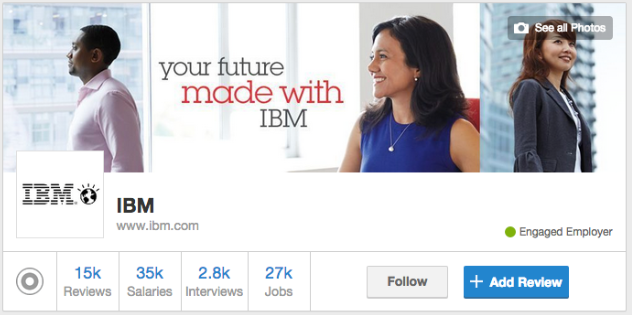 perfil ibm glassdoor