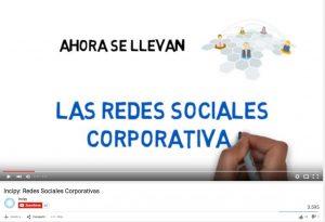 video redes sociales corporativas