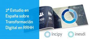 2º Estudio en España sobre Transformación digital en RRHH